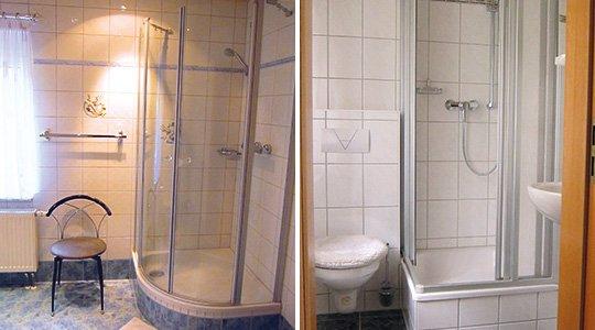 Duschen Wohnung B
